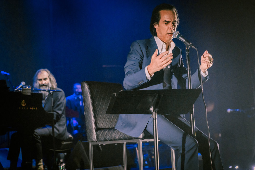 Nick Cave and the Bad Seeds performing at Kings Theatre in Brooklyn, NY - 5/26/2017 (photo by Matt Condon / @arcane93)