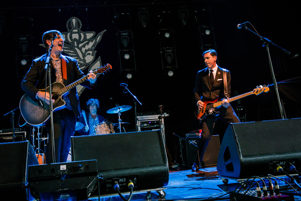 The Mountain Goats performing at Merriweather Post Pavilion in Columbia, MD - 6/30/2017 (photo by Matt Condon / @arcane93)