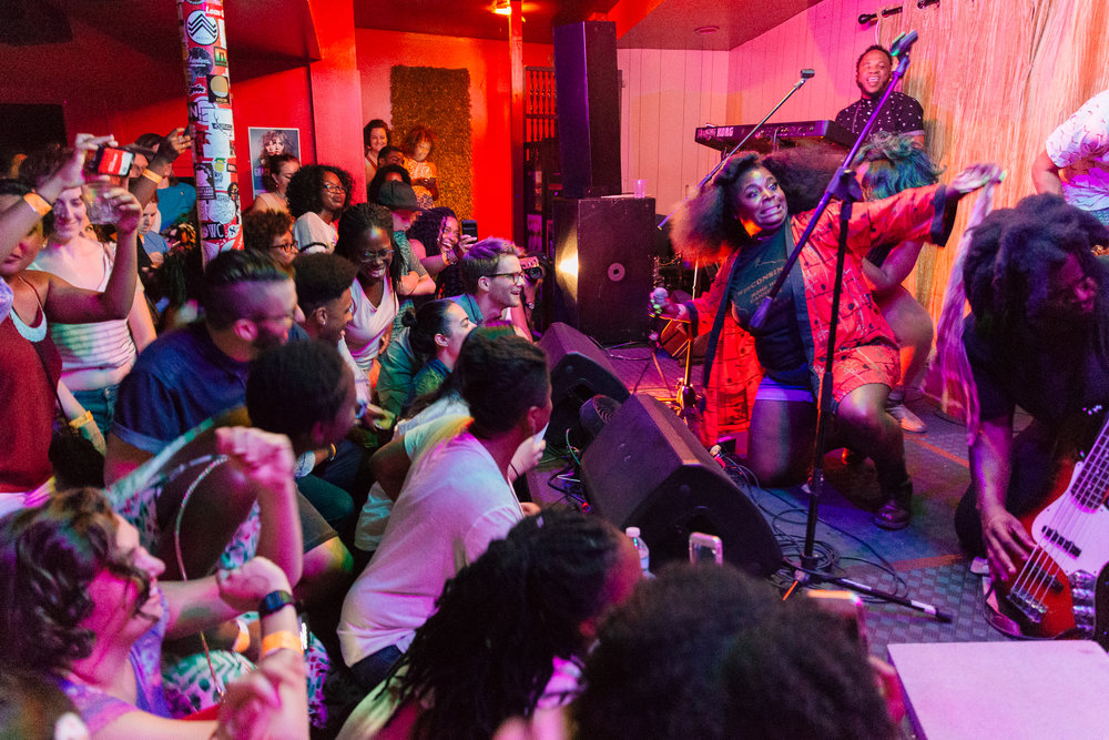 Tank & the Bangas at Songbyrd (Photo by Mauricio Castro /  @themauricio )