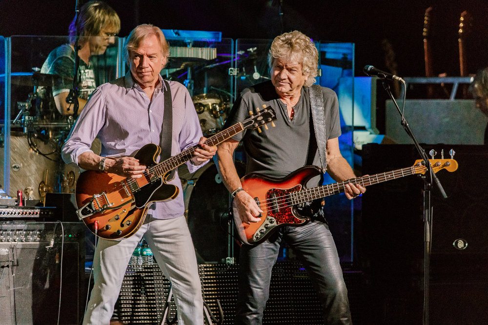 The Moody Blues performing at Pier Six Pavilion in Baltimore, MD - 7/19/2017 (photo by Matt Condon / @arcane93)