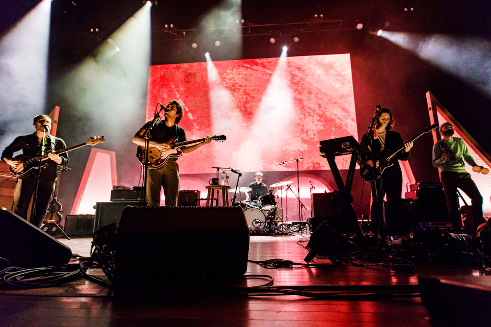 Fleet Foxes performing at Merriweather Post Pavilion - 7/29/2017 (photo by Matt Condon / @arcane93)
