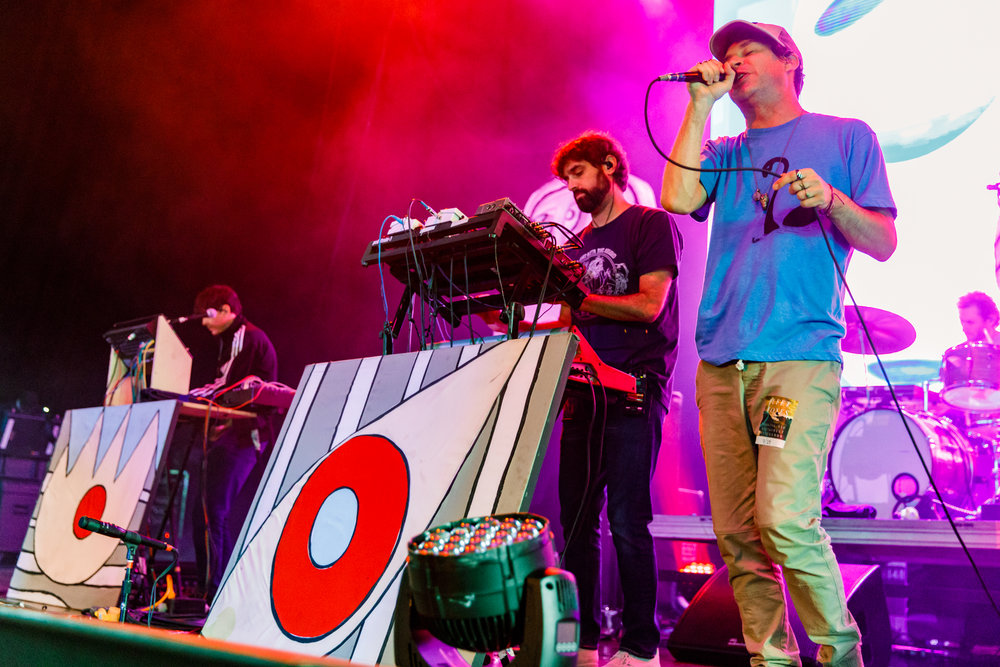 Animal Collective performing at Merriweather Post Pavilion - 7/29/2017 (photo by Matt Condon / @arcane93)