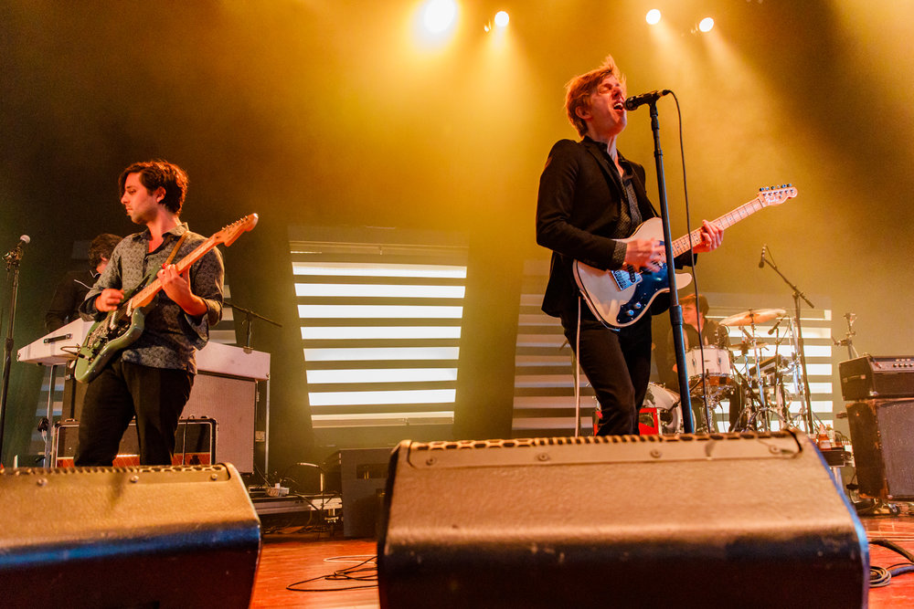 Spoon performing at Merriweather Post Pavilion - 7/30/2017 (photo by Matt Condon / @arcane93)