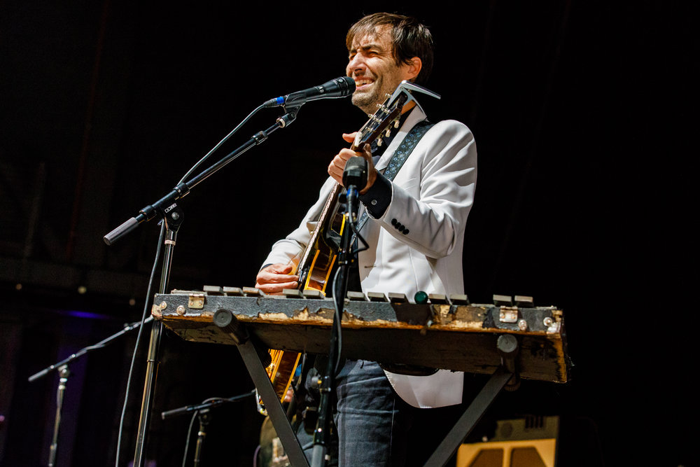 Andrew Bird performing at Merriweather Post Pavilion - 7/30/2017 (photo by Matt Condon / @arcane93)