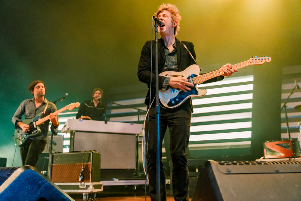 Spoon performing at Merriweather Post Pavilion in Columbia, MD on July 30th, 2017 (photo by Matt Condon / @arcane93)