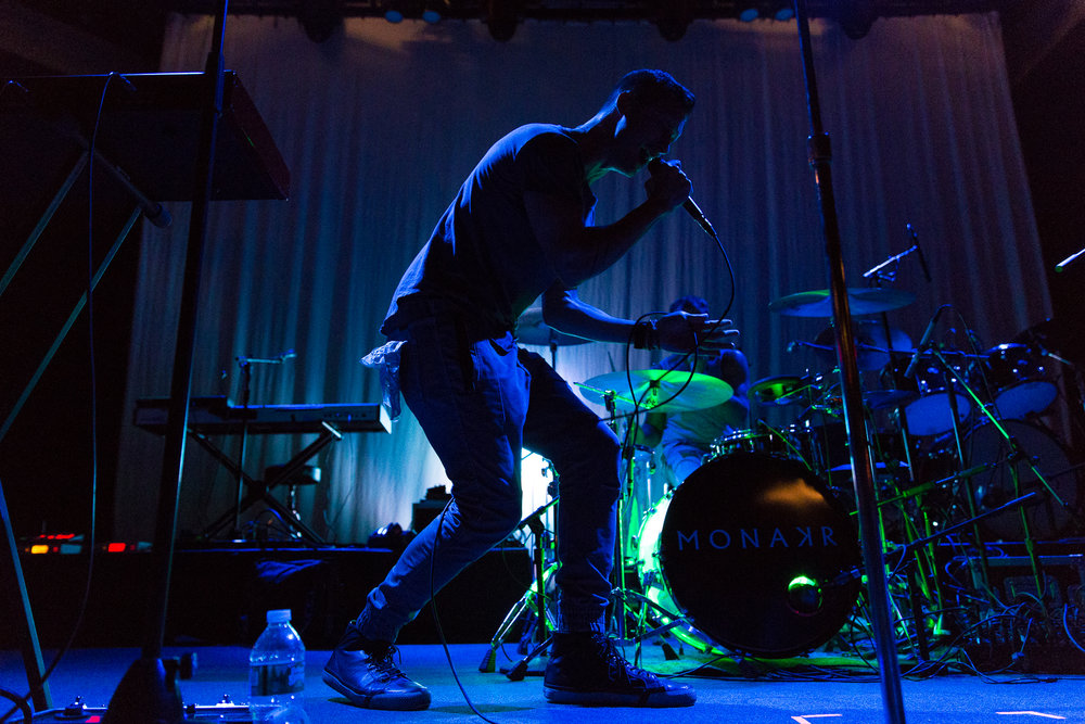 MONAKR at 9:30 Club (Photo by Mauricio Castro /  @themauricio )