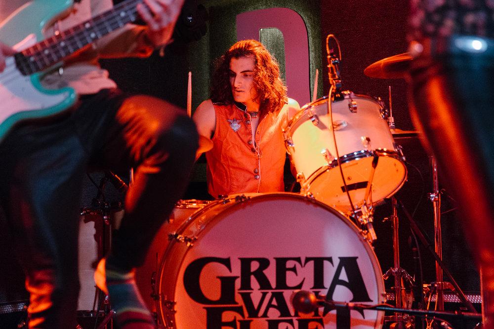 Greta Van Fleet at DC9 (Photo by Mauricio Castro /  @themauricio )