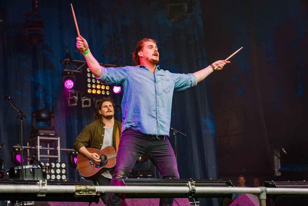 Pierce Brothers at Fairport's Cropredy Convention (photo by Matt Condon / @arcane93)