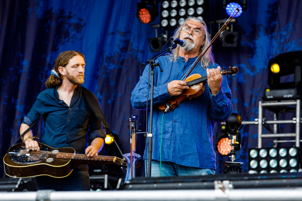 Gigspanner Big Band at Fairport's Cropredy Convention (photo by Matt Condon / @arcane93)
