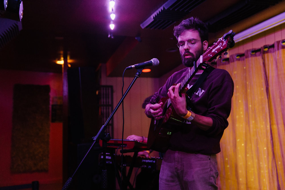 Henry Jamison at Songbyrd (Photo by Mauricio Castro /  @themauricio )