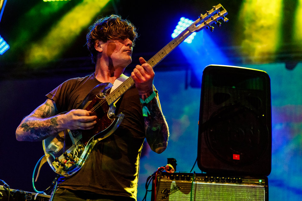 Thee Oh Sees performing at Hopscotch Music Festival 2017 in Raleigh, NC - 9/7/2017 (photo by Matt Condon / @arcane93)