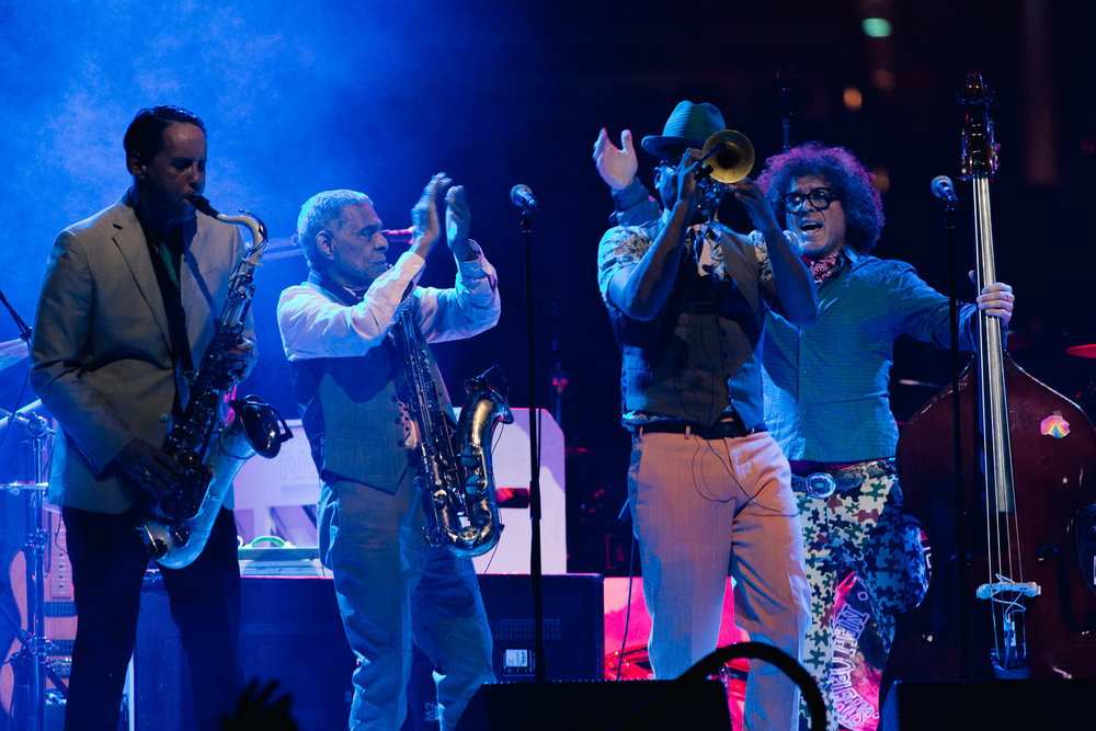 Preservation Hall Jazz Band at Capital One Arena (Photo by Mauricio Castro /  @themauricio )