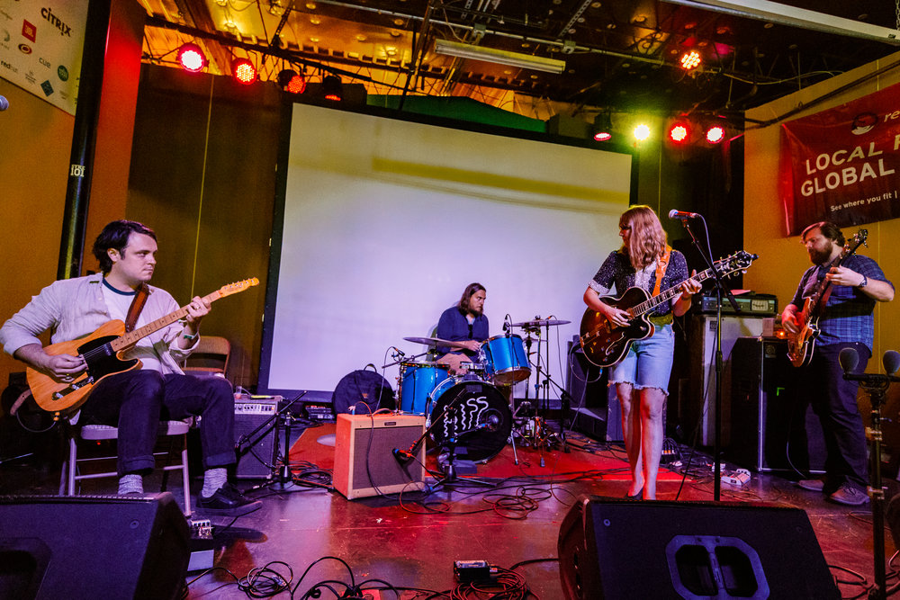 Rosali performing at Hopscotch Music Festival 2017 in Raleigh, NC - 9/8/2017 (photo by Matt Condon / @arcane93)