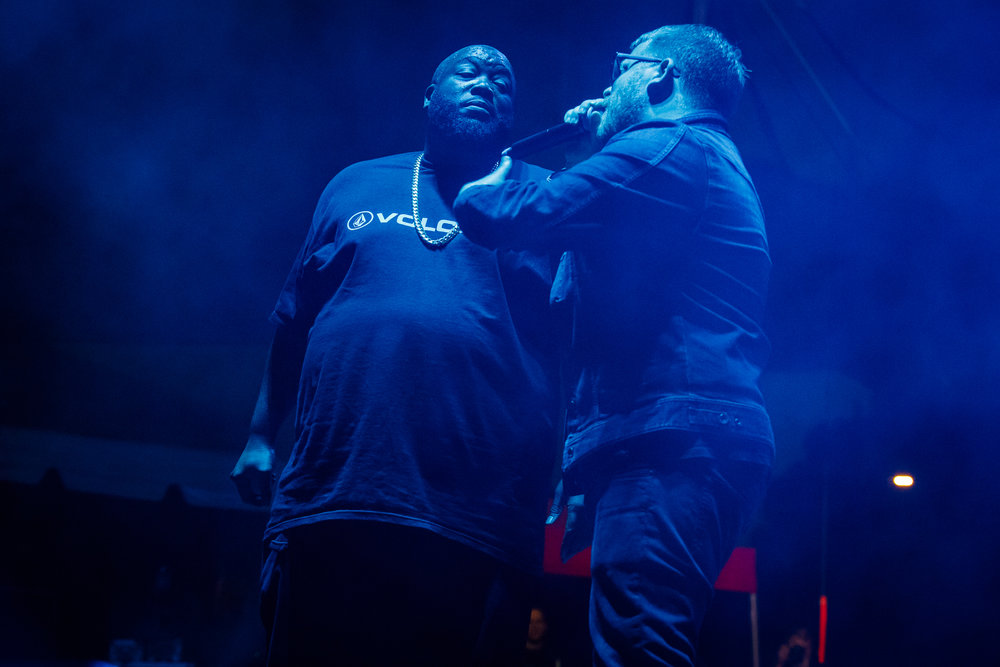 Run the Jewels performing at Hopscotch Music Festival 2017 in Raleigh, NC - 9/8/2017 (photo by Matt Condon / @arcane93)