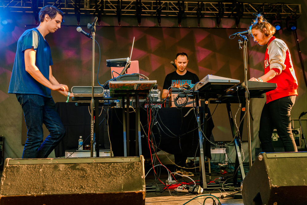 Body Games performing at Hopscotch Music Festival 2017 in Raleigh, NC - 9/9/2017 (photo by Matt Condon / @arcane93)