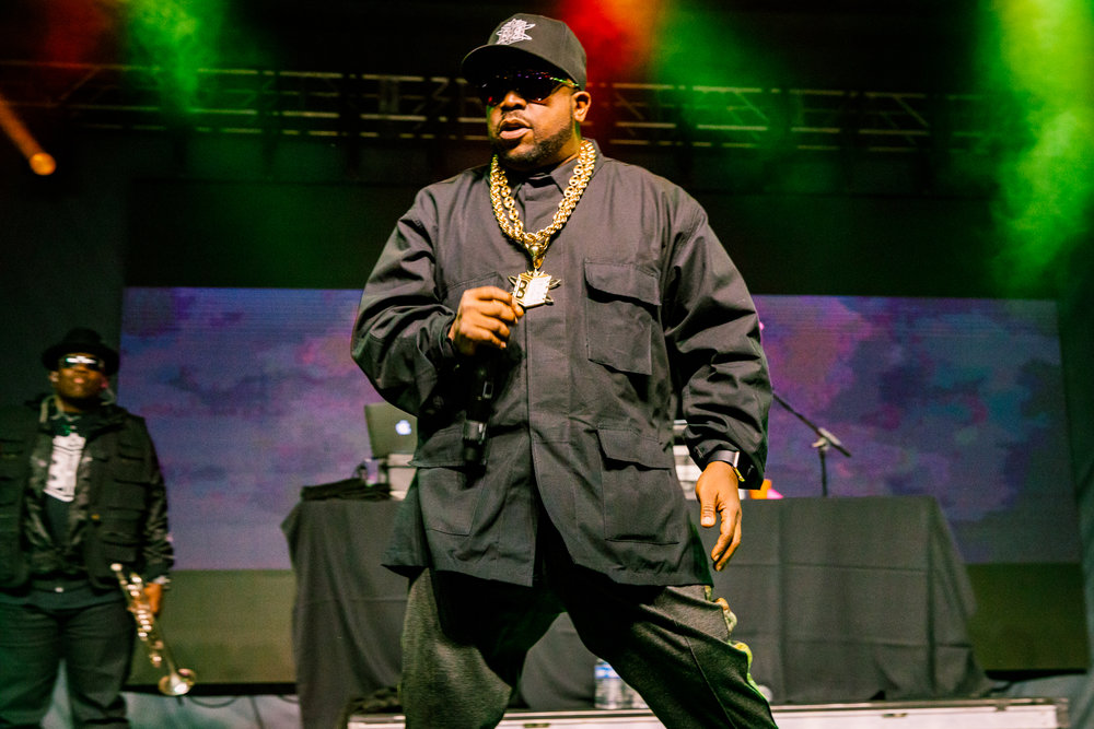 Big Boi performing at Hopscotch Music Festival 2017 in Raleigh, NC - 9/9/2017 (photo by Matt Condon / @arcane93)