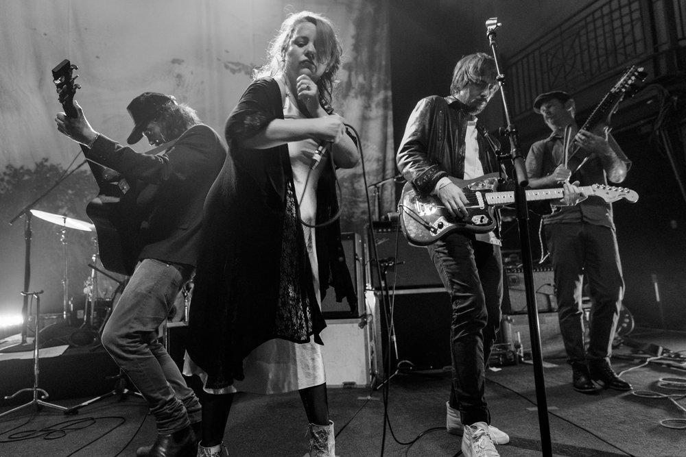 Broken Social Scene performing at the 9:30 Club in Washington, DC - 9/20/2017 (photo by Matt Condon / @arcane93)