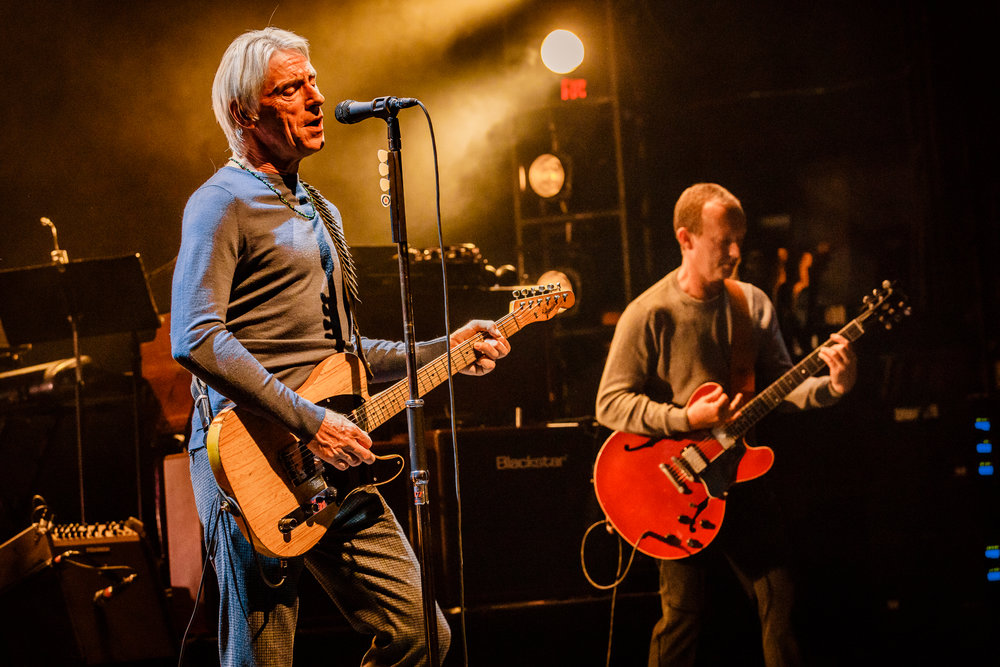 Paul Weller performing at the Lincoln Theatre in Washington, DC - 10/7/2017 (photo by Matt Condon / @arcane93)