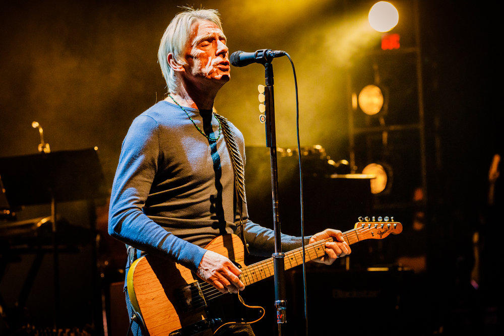 Paul Weller performing at the Lincoln Theatre in Washington, DC on October 7th, 2017 (photo by Matt Condon / @arcane93)