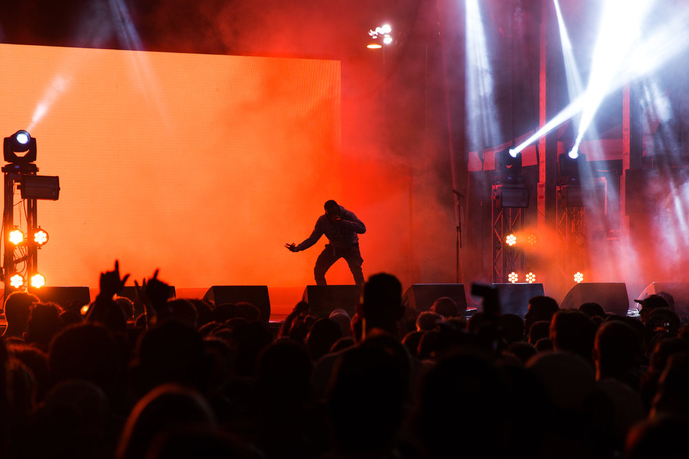 Vince Staples on day 2 of the All Things Go Fall Classic (Photo by Mauricio Castro /  @themauricio )