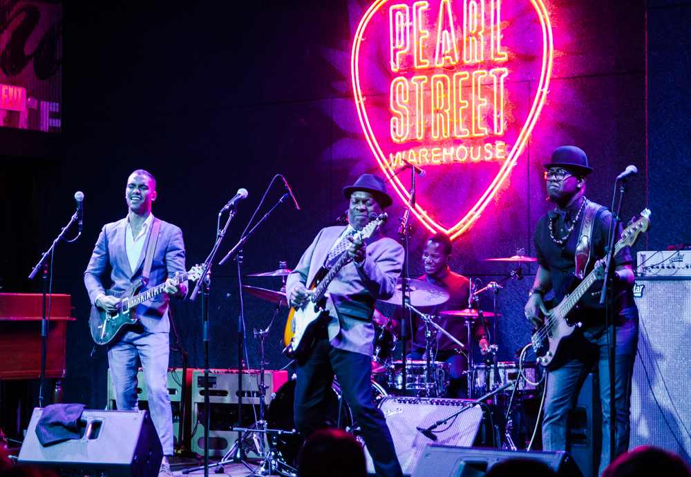 Booker T. Jones performing at the Grand Opening of Pearl Street Warehouse in Washington, DC on 10.12.2017. (Photo by Kevin HIll/@chnkykevin)