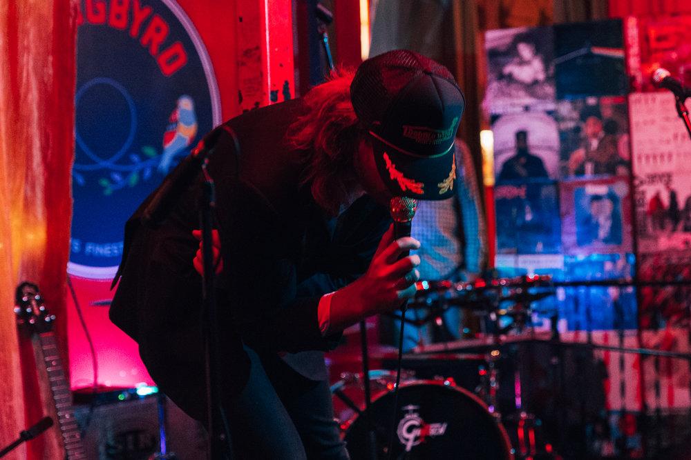 Jack Ladder at Songbyrd (Photo by Mauricio Castro /  @themauricio )
