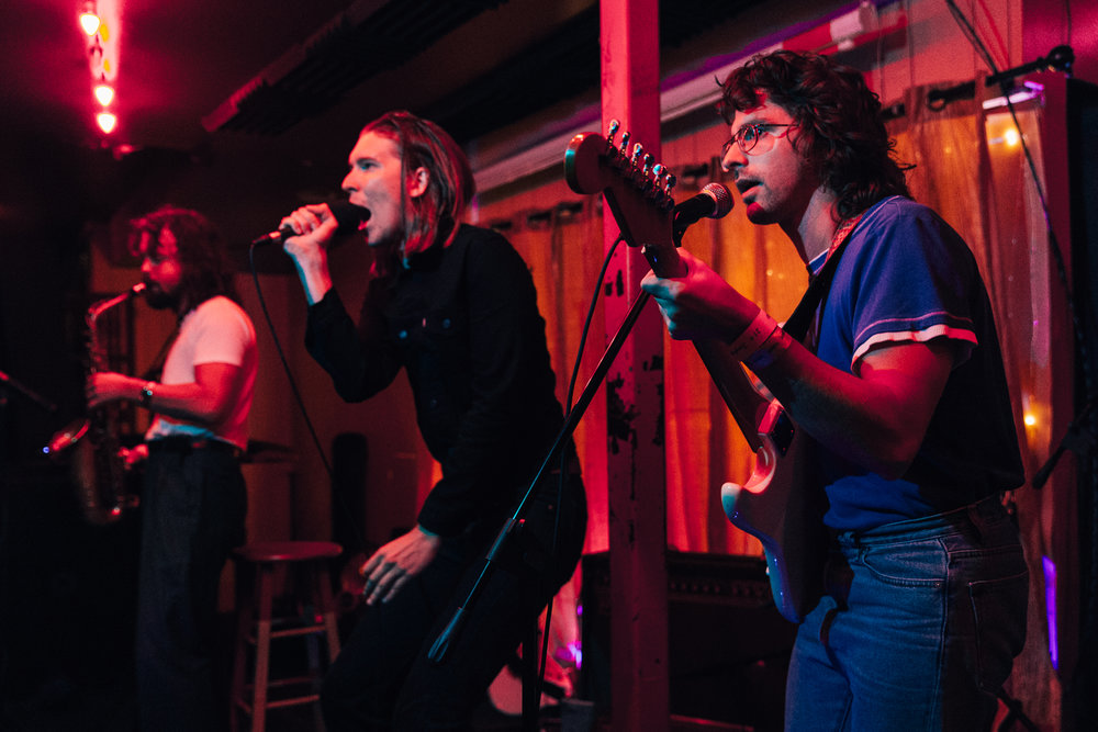 Alex Cameron at Songbyrd (Photo by Mauricio Castro /  @themauricio )