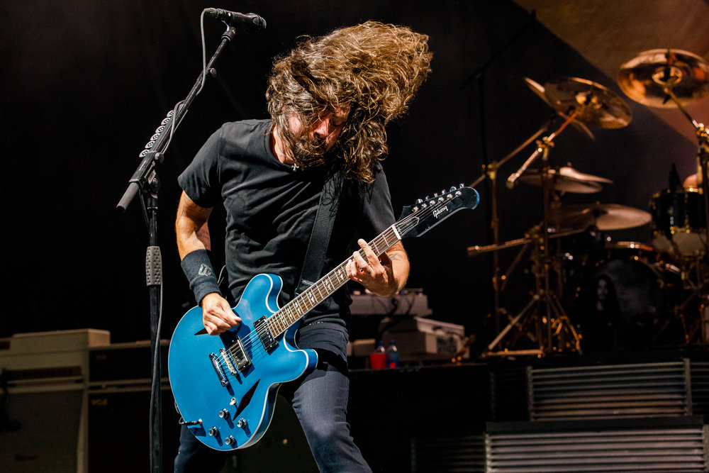 Foo Fighters performing at The Anthem in Washington, DC on October 12th, 2017 (photo by Matt Condon / @arcane93)