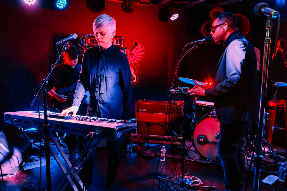 The Dears performing at DC9 in Washington, DC on November 3rd, 2017 (photo by Matt Condon /  @arcane93 )
