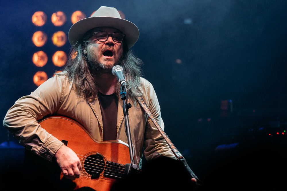 Jeff Tweedy of Wilco performing a solo acoustic set at 9:30 Club (Photo by Mauricio Castro /  @themauricio )