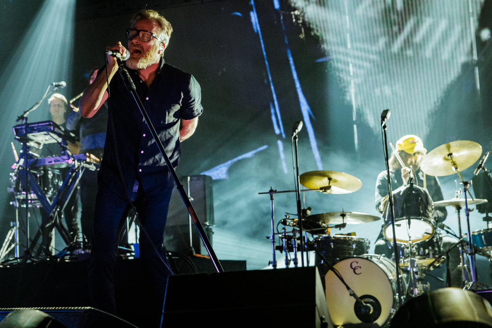 The National performing at The Anthem in Washington, DC - 12/5/2017 (photo by Matt Condon / @arcane93)