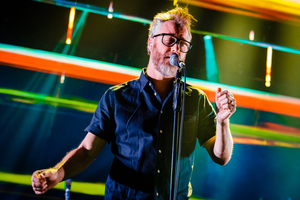 The National performing at The Anthem in Washington, DC on December 5th, 2017 (photo by Matt Condon /  @arcane93 )
