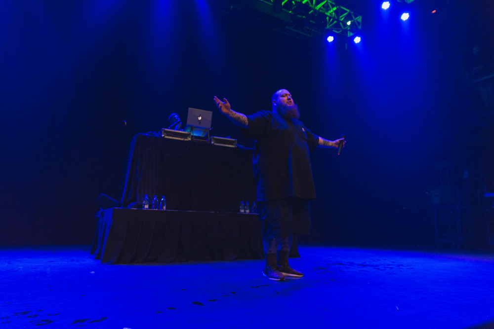 Action Bronson performing at Fillmore Silver Spring on 12/22/17 (All photos by Avery Junius)