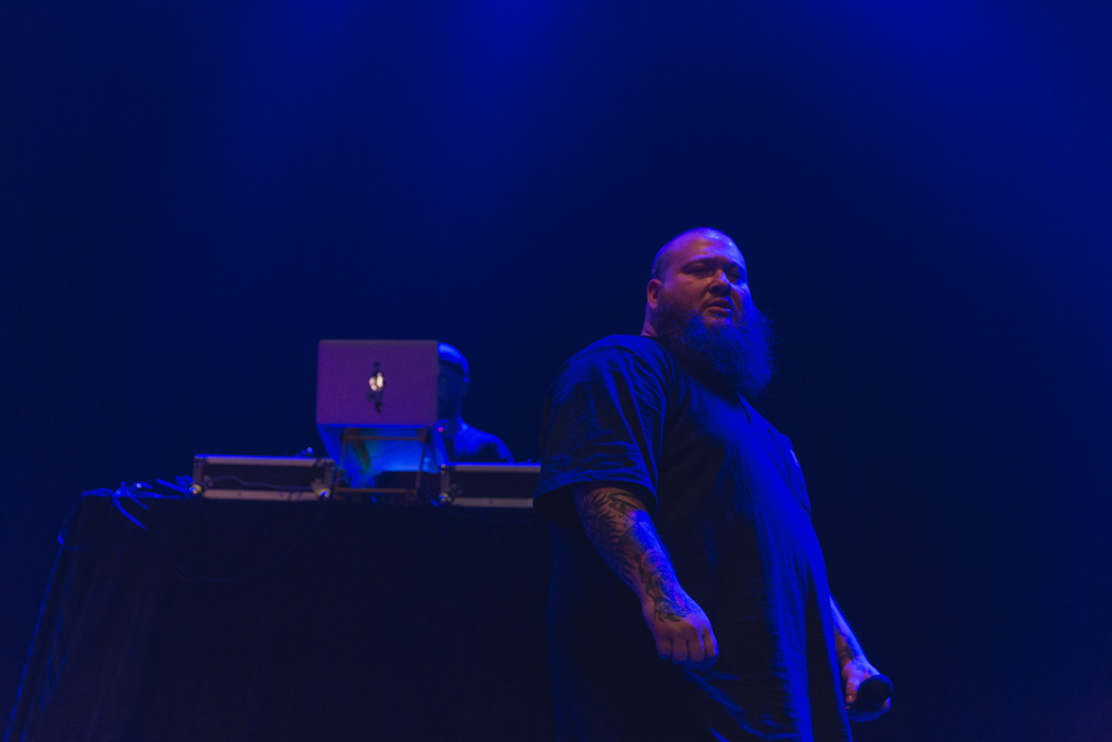 Action Bronson rocked a pre-Xmas jam at the Fillmore Silver Spring in Silver Spring, MD (Photo by Avery Junius /  @ 1takeace   )