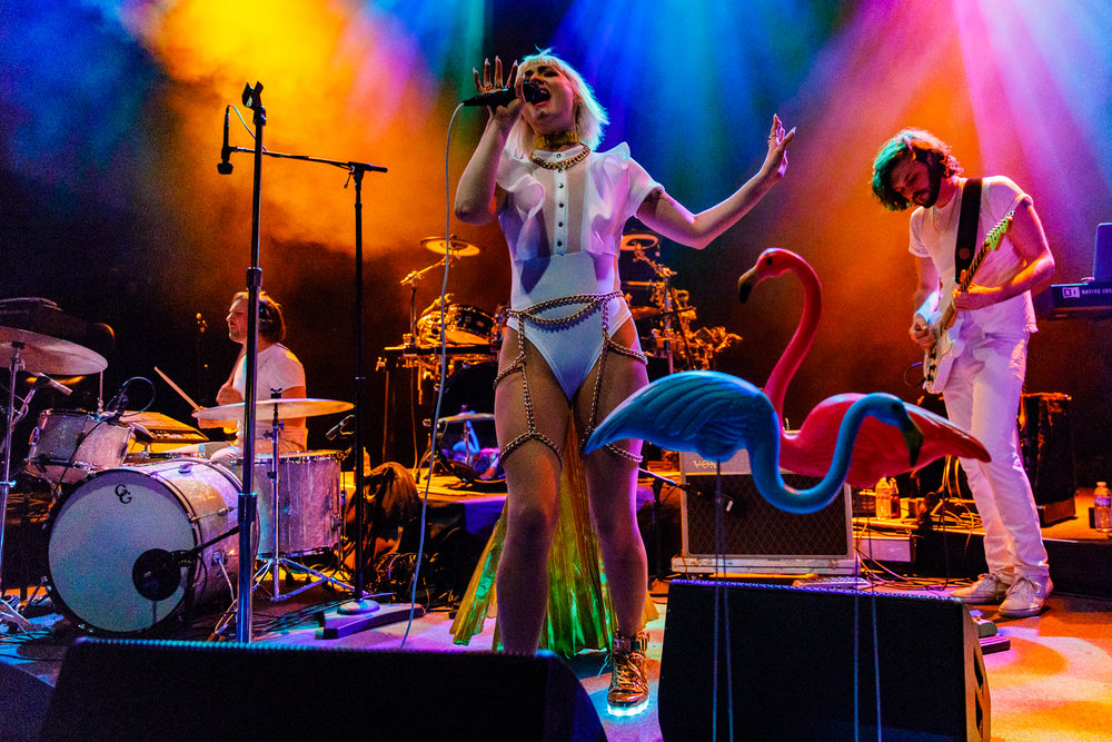 GGOOLLDD performing at the 9:30 Club in Washington, DC - 3/6/2018 (photo by Matt Condon / @arcane93)
