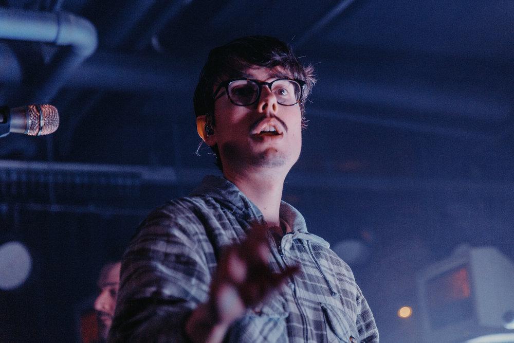 Joywave's Daniel Armbruster (Photo by Mauricio Castro /  @themauricio )