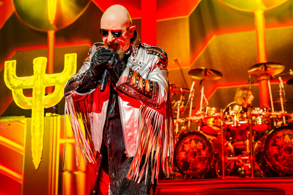 Judas Priest performing at The Anthem in Washington, DC on March 18th, 2018 (photo by Matt Condon /  @arcane93 )