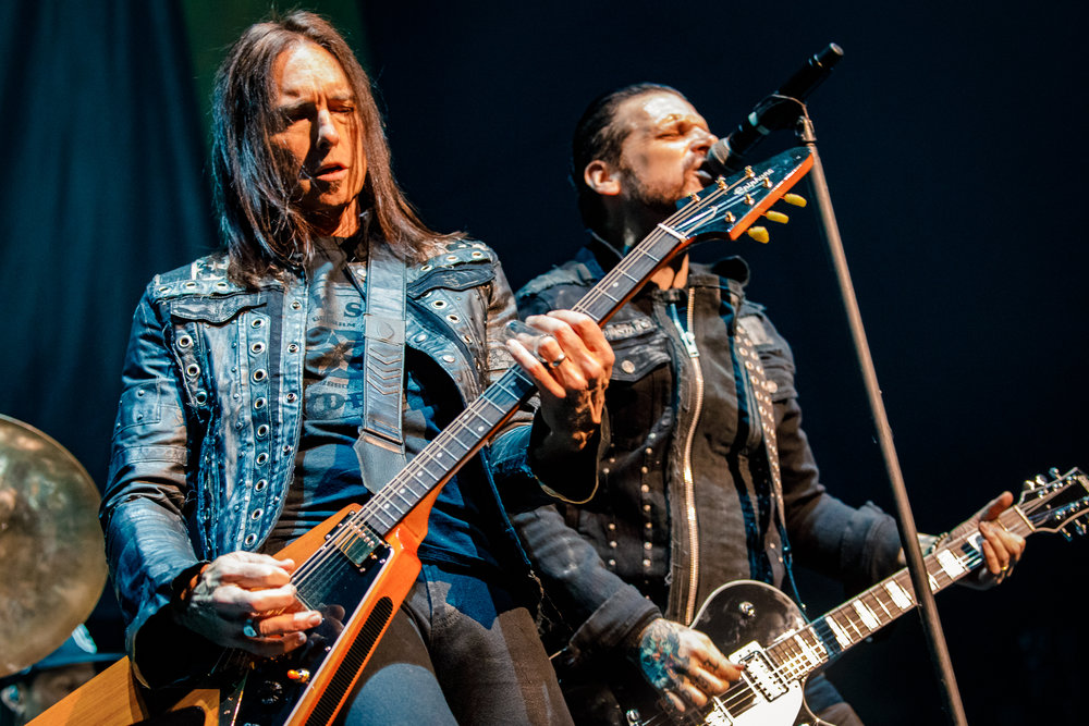 Black Star Riders performing at The Anthem in Washington, DC on March 18th, 2018 (photo by Matt Condon / @arcane93)