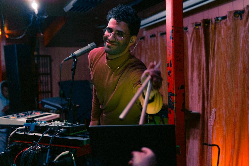 Soft Glas @ Songbyrd (Photo by Mauricio Castro /  @themauricio )