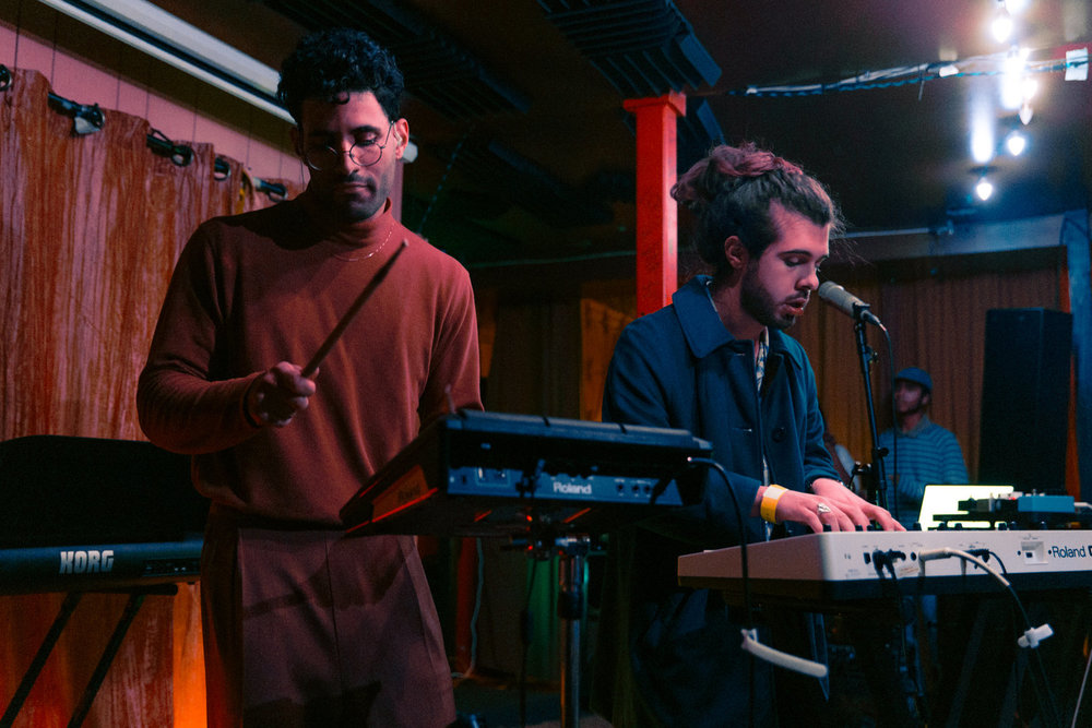 Soft Glas alongside Mr. Daywalker at Songbyrd (Photo by Mauricio Castro /  @themauricio )