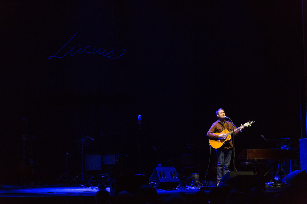 Ethan Gruska at the Lincoln Theatre (Photo by Mauricio Castro /  @themauricio )