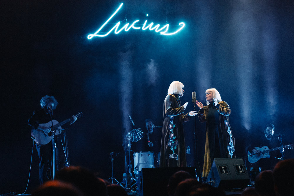 Lucius at the Lincoln Theatre (Photo by Mauricio Castro /  @themauricio )