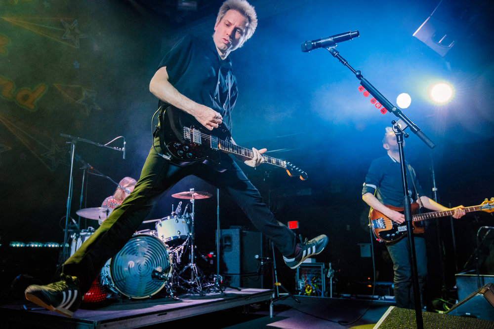 Franz Ferdinand performing at the 9:30 Club in Washington, DC - 4/11/2018 (photo by Matt Condon  / @arcane93)
