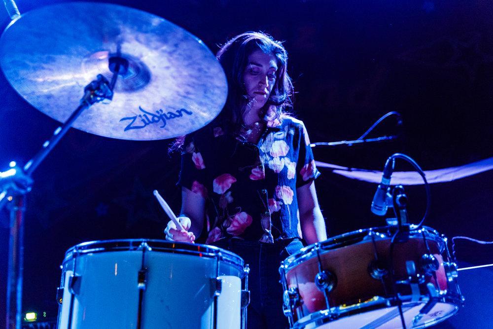 Bodega performing at the 9:30 Club in Washington, DC - 4/11/2018 (photo by Matt Condon  / @arcane93)