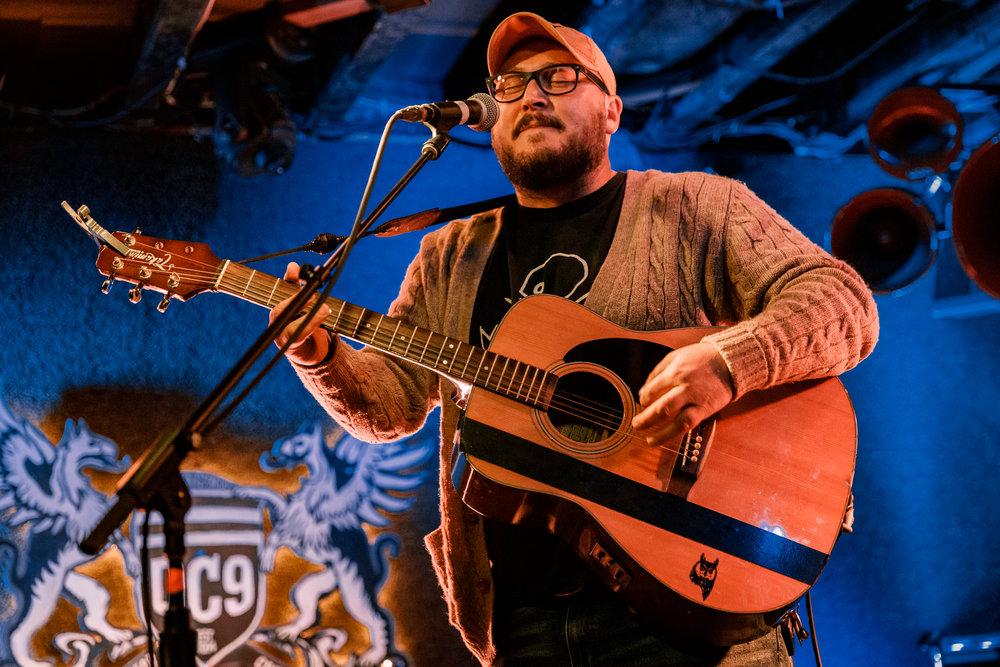 Psalmships performing at DC9 in Washington, DC - 4/20/2018 (photo by Matt Condon / @arcane93)