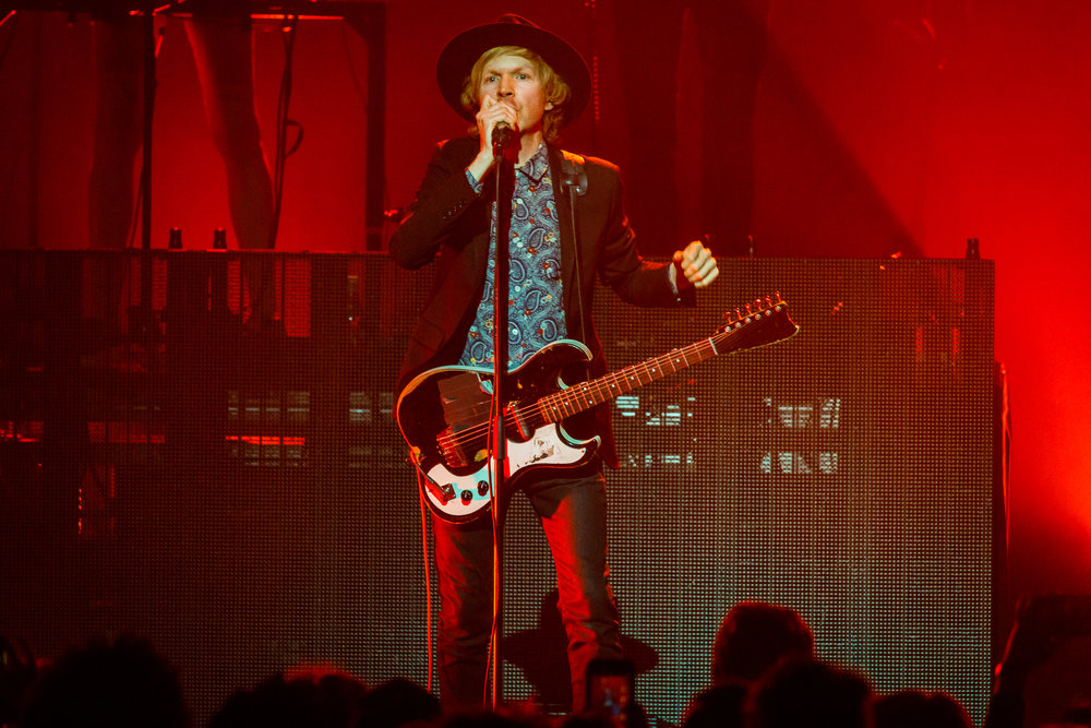 Beck performing at The Anthem in Washington, DC - 4/26/2018 (photo by Matt Condon / @arcane93)