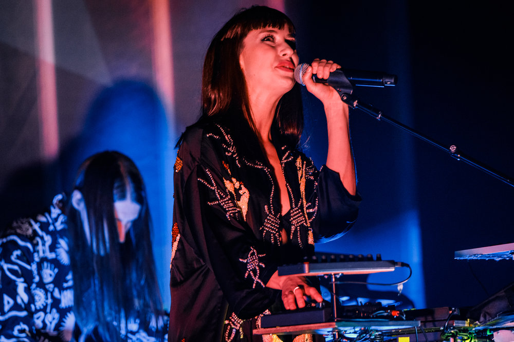 Kimbra performing at The Anthem in Washington, DC - 4/26/2018 (photo by Matt Condon / @arcane93)