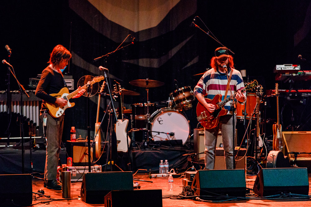 Ryley Walker performing at the Lincoln Theatre in Washington, DC - 4/27/2018 (photo by Matt Condon / @arcane93)