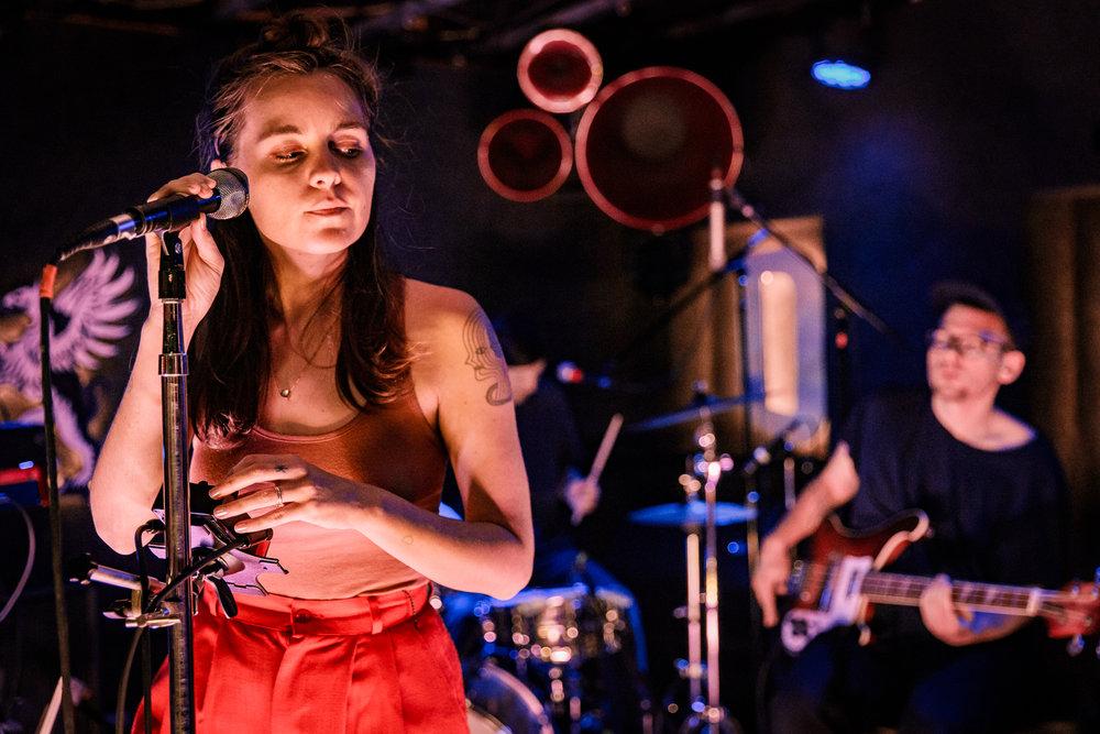 Loma performing at DC9 in Washington, DC on May 2nd, 2018 (photo by Matt Condon /  @arcane93 )