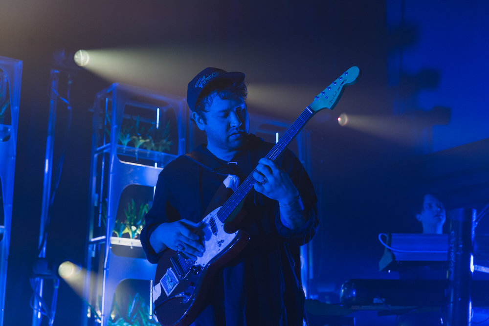 Unknown Mortal Orchestra @ 9:30 Club (Photo by Avery Junius /  @1takeace )